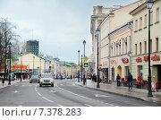 Купить «Москва, улица Покровка», фото № 7378283, снято 19 апреля 2015 г. (c) Овчинникова Ирина / Фотобанк Лори