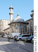 Мечеть Хобуяр (1743) в Стамбуле, Турция (2015 год). Редакционное фото, фотограф Илюхина Наталья / Фотобанк Лори