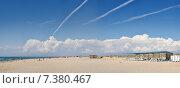 Бесконечные пляжи Витязева. Стоковое фото, фотограф Александр Смаков / Фотобанк Лори