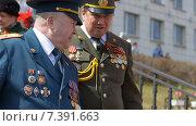 Ветераны Великой Отечественной Войны (2014 год). Редакционное фото, фотограф Ольга Акшонина / Фотобанк Лори