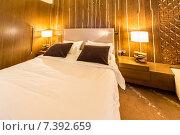 Shahdag - FEBRUARY 8, 2015: Room in Park Chalet Hotel on Februar. Стоковое фото, фотограф Elnur / Фотобанк Лори