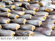 Купить «stuffed fish or seafood at asian street market», фото № 7397631, снято 7 февраля 2015 г. (c) Syda Productions / Фотобанк Лори