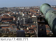 View from the Castelo de S. Jorge on the historic center of Lisbon (2003 год). Стоковое фото, агентство Caro Photoagency / Фотобанк Лори