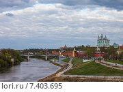 Купить «Смоленск. Вид города», эксклюзивное фото № 7403695, снято 3 мая 2015 г. (c) Литвяк Игорь / Фотобанк Лори