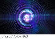 Купить «Возмущение атомного ядра и элементарных частиц в нестабильном состоянии в виде бушующего огненного шара закрученного в спираль», иллюстрация № 7407863 (c) Артем Волков / Фотобанк Лори