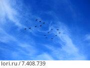 Воздушная часть Парада Победы 2015. Стоковое фото, фотограф Лукьянов Павел / Фотобанк Лори