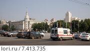 ЦЕнтральная площадь (2014 год). Редакционное фото, фотограф Вячеслав Потапов / Фотобанк Лори