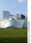 Exterior of the Vitra Design Museum, Weil am Rhein, Germany (2005 год). Редакционное фото, агентство Caro Photoagency / Фотобанк Лори