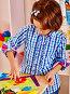 Child painting at easel., фото № 7418827, снято 25 ноября 2012 г. (c) Gennadiy Poznyakov / Фотобанк Лори