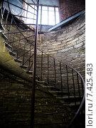 Купить «Винтовая лестница Исаакиевской колоннады. Санкт-Петербург», фото № 7425483, снято 1 мая 2015 г. (c) Василий Аксюченко / Фотобанк Лори