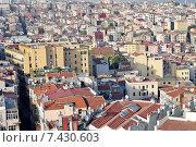 Купить «Стамбул. Вид на город со смотровой площадки Галатской башни», фото № 7430603, снято 18 апреля 2015 г. (c) Илюхина Наталья / Фотобанк Лори