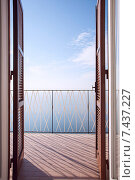 Балкон (2010 год). Стоковое фото, фотограф Юлия Новикова / Фотобанк Лори