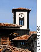 Купить «Болгария. Несебр. Башня с часами», фото № 7443607, снято 5 мая 2015 г. (c) Victor Spacewalker / Фотобанк Лори