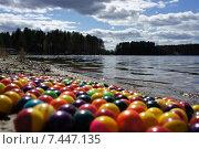 Пейнтбол на природе. Стоковое фото, фотограф Виктория Радостева / Фотобанк Лори