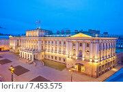 Санкт-Петербург. Мариинский дворец (2015 год). Редакционное фото, фотограф Литвяк Игорь / Фотобанк Лори