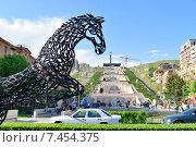 Купить «Большой Каскад в Ереване», фото № 7454375, снято 2 мая 2015 г. (c) VahanN / Фотобанк Лори