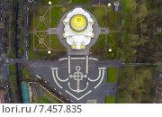 Купить «Морской Никольский собор в Кронштадте снятый с квадрокоптера», фото № 7457835, снято 20 января 2020 г. (c) Андрей Родионов / Фотобанк Лори