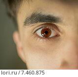 Мужской глаз. Стоковое фото, фотограф Сотникова Кристина / Фотобанк Лори