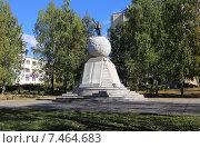 Купить «Памятник Ленину в Нижнем Тагиле. Установлен в 1925 году», фото № 7464683, снято 20 сентября 2013 г. (c) Евгений Ткачёв / Фотобанк Лори