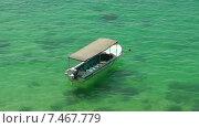 Лодка в Унаватуне (2015 год). Стоковое видео, видеограф Олег Жигунов / Фотобанк Лори