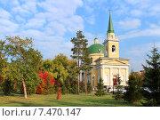 Купить «Город Омск, Свято-Никольский Казачий собор», фото № 7470147, снято 24 сентября 2014 г. (c) Виктор Топорков / Фотобанк Лори