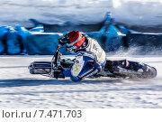Купить «Крутой поворот. Спидвей», фото № 7471703, снято 1 февраля 2014 г. (c) Andrey Michurin / Фотобанк Лори