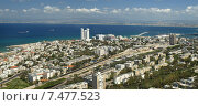 Город Хайфа, расположенный на берегу Хайфского залива. Израиль, фото № 7477523, снято 4 апреля 2015 г. (c) Самойлова Екатерина / Фотобанк Лори