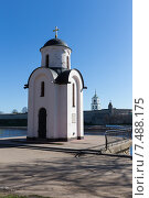 Часовня княгини Ольги в Пскове (2015 год). Стоковое фото, фотограф Слободинская Надежда / Фотобанк Лори
