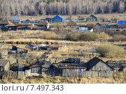 Купить «Село Травники», фото № 7497343, снято 1 мая 2015 г. (c) Сергей Костарев / Фотобанк Лори