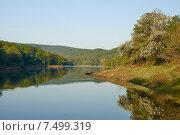 Водохранилище. Lake. Стоковое фото, фотограф Олег Левин / Фотобанк Лори