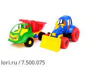 Детские машинки. Стоковое фото, фотограф Оксана Дудкина / Фотобанк Лори