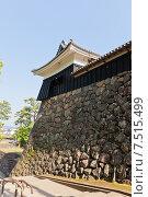 Купить «Башня Тайко Ягура замка Мацуэ (1611 г.) в городе Мацуэ, префектура Симанэ, Япония», фото № 7515499, снято 19 мая 2015 г. (c) Иван Марчук / Фотобанк Лори