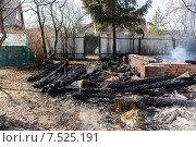 После пожара. Стоковое фото, фотограф Владимир Вдовиченко / Фотобанк Лори