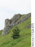 Скалы на берегу Чусовой (2015 год). Стоковое фото, фотограф Андрей / Фотобанк Лори