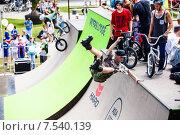Купить «Фестиваль экстремальных видов спорта XSA Invitational pro contest на открытии курортного сезона в Олимпийском парке Сочи 30 мая 2015 года», эксклюзивное фото № 7540139, снято 30 мая 2015 г. (c) Ирина Мойсеева / Фотобанк Лори