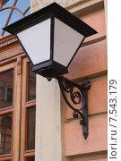 Уличный фонарь. Стоковое фото, фотограф Елена Ижболдина / Фотобанк Лори