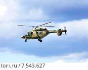 Вертолет в полете. Стоковое фото, фотограф Владимир Приземлин / Фотобанк Лори