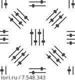 Купить «Faders pattern», иллюстрация № 7548343 (c) Иван Рябоконь / Фотобанк Лори