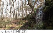 Купить «Водопад в Пущино. Боковой план», видеоролик № 7548551, снято 16 июля 2020 г. (c) Mike The / Фотобанк Лори