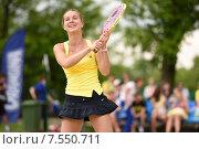 Купить «Станислава Наумова на Чемпионате России по пляжному теннису», фото № 7550711, снято 30 мая 2015 г. (c) Stockphoto / Фотобанк Лори
