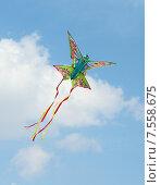 Воздушный змей в небе. Стоковое фото, фотограф Лукьянов Павел / Фотобанк Лори
