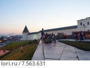 Казань, Татарстан, Велоночь. Июнь 2014 года. Редакционное фото, фотограф Анастасия Новодержкина / Фотобанк Лори