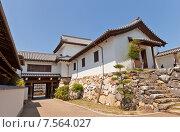 Купить «Башня Ямадзато Ягура замка Имабари (построен в 1604, реконструирован в 1980 г.) в г. Имабари, о. Сикоку, Япония», фото № 7564027, снято 21 мая 2015 г. (c) Иван Марчук / Фотобанк Лори