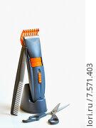 Купить «Инструменты парикмахера», фото № 7571403, снято 2 ноября 2009 г. (c) Iordache Magdalena / Фотобанк Лори