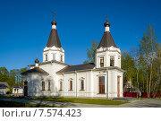 Небольшая православная Церковь, Карелия. Стоковое фото, фотограф Александр Никифоров / Фотобанк Лори