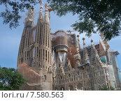Храм Святого Семейства. Барселона. Испания. Стоковое фото, фотограф lana1501 / Фотобанк Лори