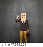 Купить «Composite image of anonymous businessman», фото № 7588223, снято 25 марта 2019 г. (c) Wavebreak Media / Фотобанк Лори