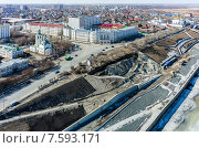 Купить «Тюменский архитектурный и строительный университет», фото № 7593171, снято 30 апреля 2015 г. (c) Сергей Буторин / Фотобанк Лори