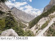 Купить «Гималаи - национальный парк Ганготри, Индия», фото № 7594639, снято 15 мая 2012 г. (c) Александр Шутов / Фотобанк Лори