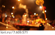 Купить «Фестиваль Кумбха Мела. Размытость», видеоролик № 7609571, снято 24 июня 2015 г. (c) Василий Кочетков / Фотобанк Лори